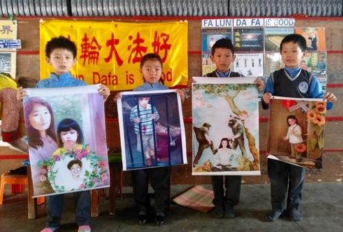 Тибетские школы в Индии знакомят учеников с Фалуньгун