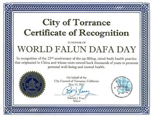 https://en.minghui.org/u/article_images/2021-6-9-torrance-mayor-certificate-falun-gong_01.png