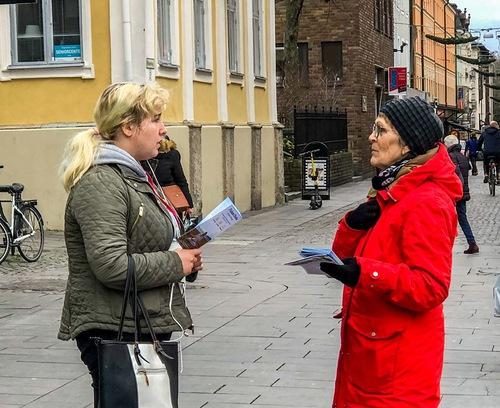В Швеции осудили компартию Китая за преследование Фалуньгун